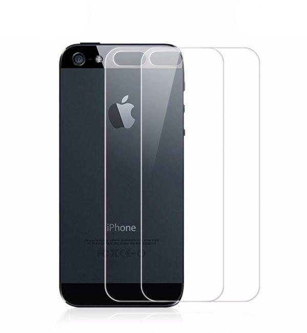 Temperované ochranné sklo iPhone 55SSE na zadnú časť (2)