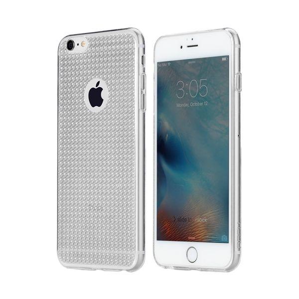 Silikónový obal ROCK pre iPhone 6 Plus 6S Plus, Strieborná farba