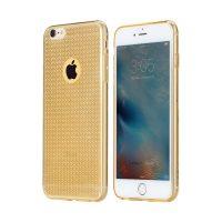 Silikónový obal ROCK pre iPhone 6 Plus 6S Plus, Zlatá farba