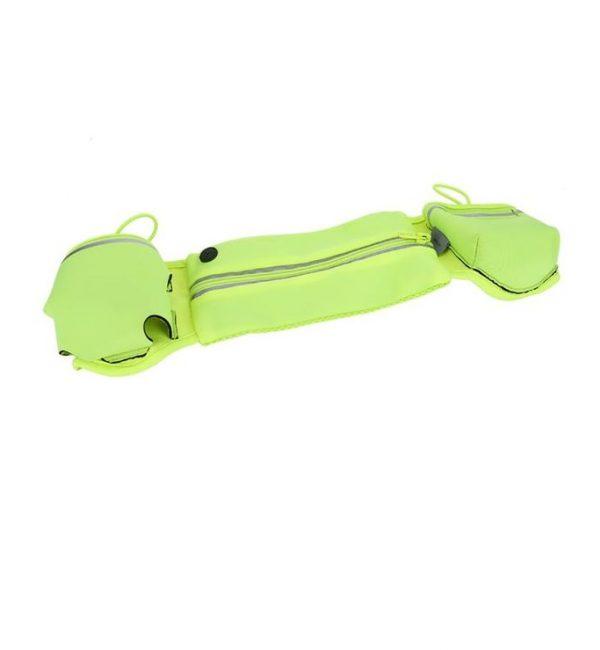 Vodeodolné púzdro ROCK na smartphony do 6 palcov, zelená farba