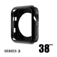 Elegantný ochranný kryt pre Apple Watch 38mm, Series 2 v čiernej farbe