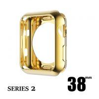Elegantný ochranný kryt pre Apple Watch 38mm, Series 2 v zlatej farbe