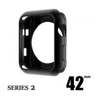Elegantný ochranný kryt pre Apple Watch 42mm, Series 2 v čiernej farbe