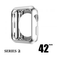 Elegantný ochranný kryt pre Apple Watch 42mm, Series 2 v striebornej farbe