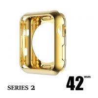 Elegantný ochranný kryt pre Apple Watch 42mm, Series 2 v zlatej farbe