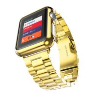 Luxusný ochranný kryt pre Apple Watch 38mm, Series 2 v zlatej farbe