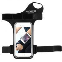 Púzdro na zápästie, púzdro na behanie pre iPhone 6, 6S, 7 v čiernej farbe