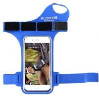 Púzdro na zápästie, púzdro na behanie pre iPhone 6, 6S, 7 v modrej farbe7