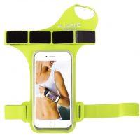 Púzdro na zápästie, púzdro na behanie pre iPhone 6, 6S, 7 v zelenej farbe