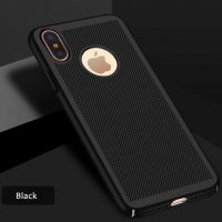Štýlový kryt pre iPhone X v čiernej farbe (2)