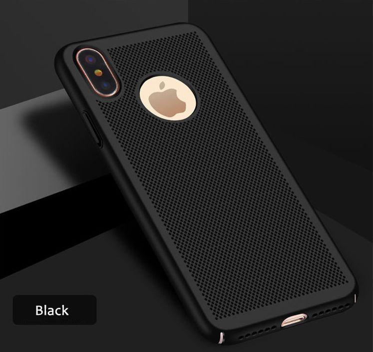 Štýlový kryt pre iPhone X v čiernej farbe