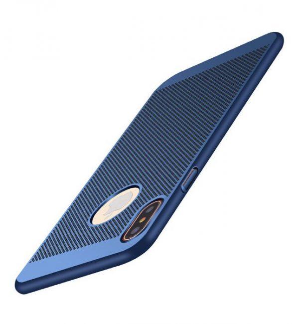 Štýlový kryt pre iPhone X v modrej farbe