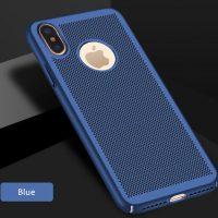 Štýlový kryt pre iPhone X v modrej farbe (2)