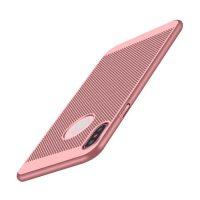 Štýlový kryt pre iPhone X v ružovej farbe