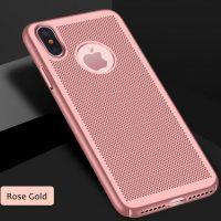Štýlový kryt pre iPhone X v ružovej farbe (2)