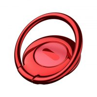 Držiak do ruky na iPhone BASEUS s magnetom na palubovku, červená farba