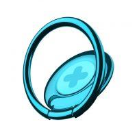 Držiak do ruky na iPhone BASEUS s magnetom na palubovku, modrá farba