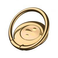 Držiak do ruky na iPhone BASEUS s magnetom na palubovku, zlatá farba