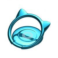 Držiak do ruky na iPhone BASEUS s magnetom v štýle mačky, modrá farba