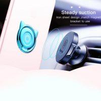 Držiak do ruky na iPhone BASEUS s magnetom v štýle mačky. Môže byť pripojený k zadnej strane zariadenia alebo ochranného púzdra