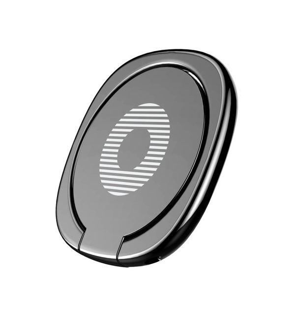 Držiak do ruky na iPhone BASUES s magnetom na pripnutie na palubovú dosku, čierna farba