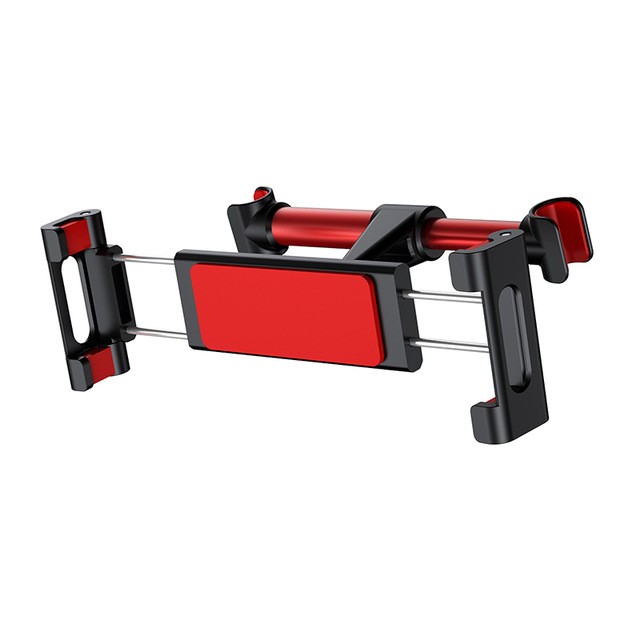 Držiak na opierku sedačky v aute pre mobil alebo tablet (4.7 - 12.9 palcové), červená farba