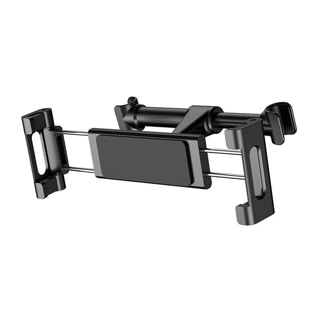 Držiak na opierku sedačky v aute pre mobil alebo tablet (4.7 - 12.9 palcové), čierna farba