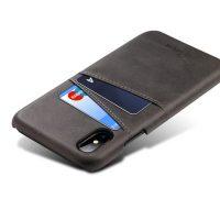 Kryt na kreditnú alebo debetnú kartu AOKIN pre iPhone 8 v čiernej farbe (1)