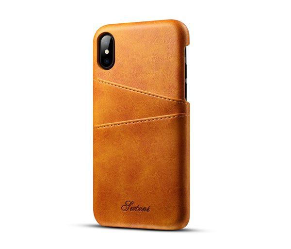 Kryt na kreditnú alebo debetnú kartu AOKIN pre iPhone 8 v khaki farbe