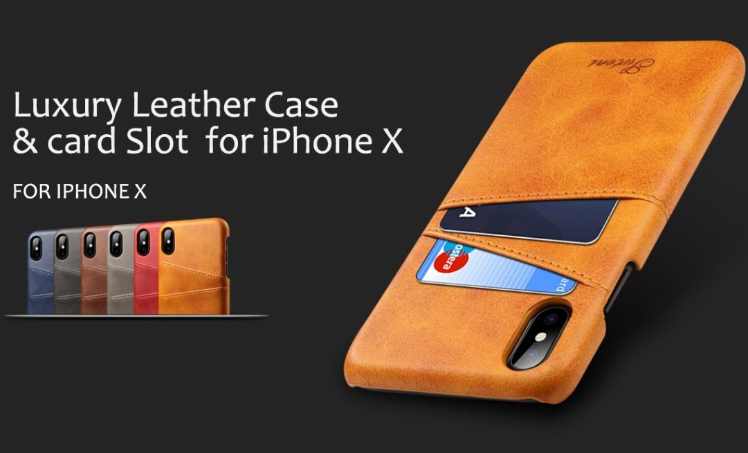 Luxusné kožené obaly na iPhone X