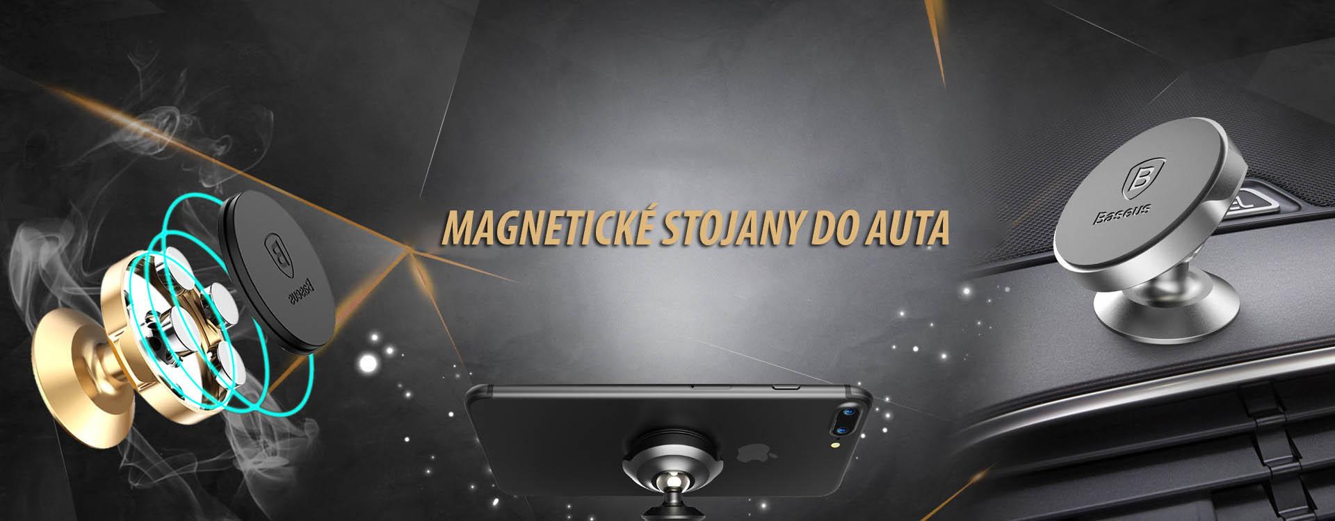 Magnetické stojany do auta na iPhone