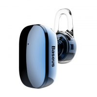 Mini Bluetooth Handsfree BASEUS, V4.1 Bluetooth v modrej farbe