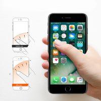 Štýlový držiak do ruky na iPhone BASEUS