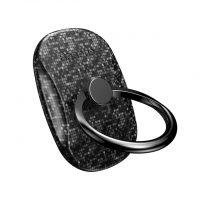Štýlový držiak do ruky na iPhone BASEUS, čierna farba