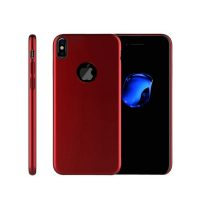 Tvrdý ochranný kryt pre iPhone X v červenej farbe