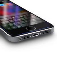 Kvalitné ochranné sklo iPhone 55sSE, Anti-blue - šetrí zrak (2)
