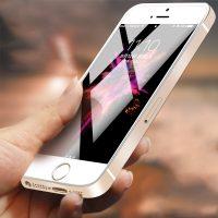 Kvalitné ochranné sklo iPhone 55sSE, Clear verzia (1)