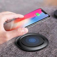 Nabíjacia bezdrôtová podložka pre iPhone v čiernej farbe. K nabíjacej podložke je potrebné si zakúpiť bezdrôtový prijímač pre iPhone (1)