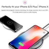 Nabíjacia bezdrôtová podložka pre iPhone v čiernej farbe. K nabíjacej podložke je potrebné si zakúpiť bezdrôtový prijímač pre iPhone (3)