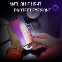 Tvrdené ochranné sklo pre iPhone X, Anti-blue - šetrí zrak (3)