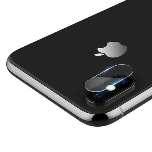 Tvrdené ochranné sklo pre kameru iPhone X, 2ks. Prekrýva zadnú kameru Vášho iPhonu X, tým chráni kameru pred poškodením iPhonu X (1)