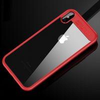 Jednoduchý silikónový kryt pre iPhone X v červenom prevedení. Zaujme vás svojim jednoduchým vzhľadom a vysokou ochrannou.