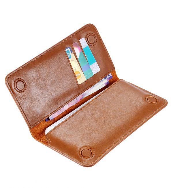 Peňaženkové púzdro pre všetky modely iPhonov v rôznych farbách