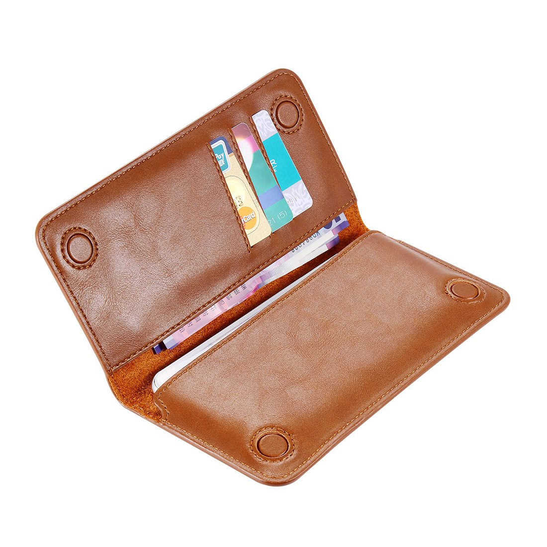 Peňaženkové púzdro pre všetky modely iPhonov v rôznych farbách 6e0549f5ef0