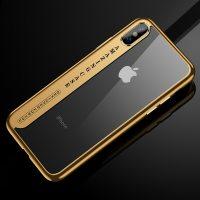 Silikónový-transparentný-kryt-pre-iPhone-X-so-zlatými-okrajmi-.