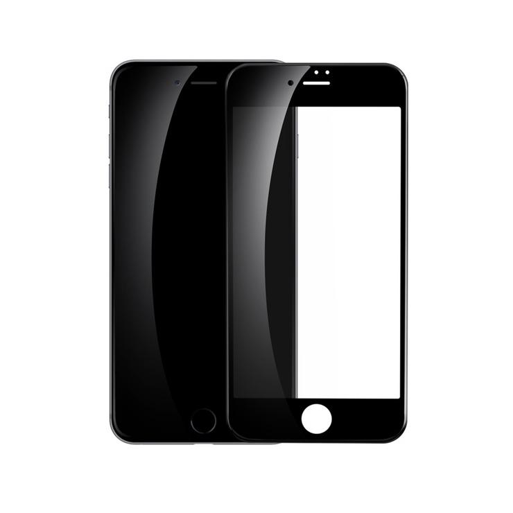 3D ochranné sklo pre iPhone 7, iPhone 8, čierna farba