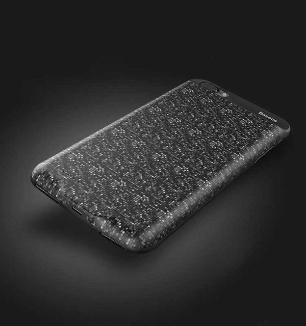 Dobíjací obal BASEUS na iPhone 7 Plus a iPhone 8 plus v čiernej farbe, 3650 mAh