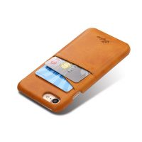 Kryt na kreditnú alebo debetnú kartu AOKIN pre iPhone 8 v khaki farbe (1)