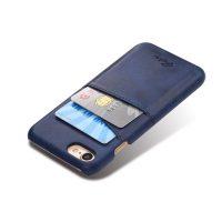 Kryt na kreditnú alebo debetnú kartu AOKIN pre iPhone 8 v modrej farbe (1)