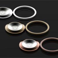 Luxusný kovový hladký prstový držiak na mobil vo farbách. Tento držiak na prst pre mobilné zariadenia je vyrobený z kvalitného kovu (5)